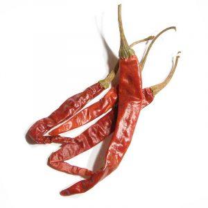 De Arbol chili smaker godt
