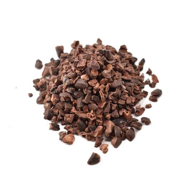 Økologiske kakaonibs, rå