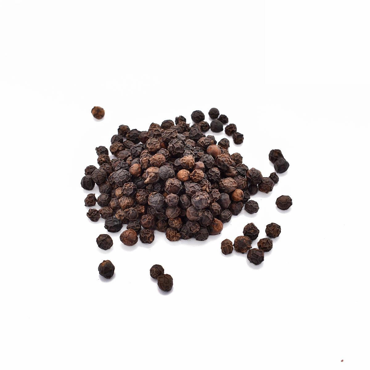 Svarte pepperkorn fra Sri Lanka