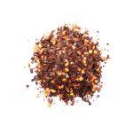 Flak av tørket guajillo chili
